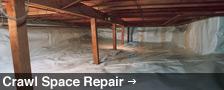 Crawl Space Repair in Manitoba