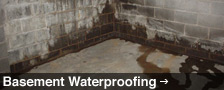 Basement Waterproofing in Manitoba